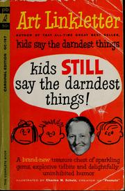 Cover of: Kids still say the darndest things