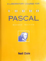 Cover of: A laboratory course in Turbo Pascal