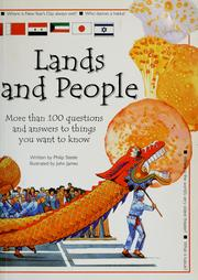 Cover of: Lands and people