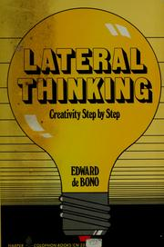 Cover of: Lateral Thinking