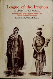 Cover of: League of the Iroquois