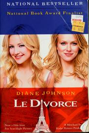 Cover of: Le divorce