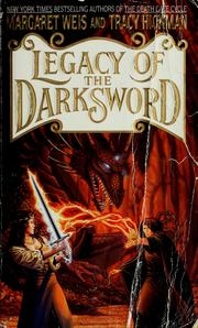 Cover of: Legacy of the darksword