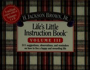 Cover of: Life's little instruction book