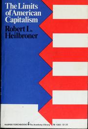 Cover of: The limits of American capitalism.