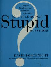 Cover of: The little book of stupid questions