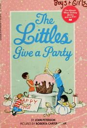 Cover of: The Littles give a party