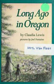 Cover of: Long ago in Oregon