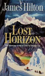 Cover of: Lost horizon.