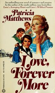 Cover of: Love, forever more