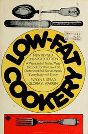 Cover of: Low-fat cookery