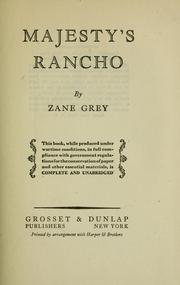 Cover of: Majesty's Rancho