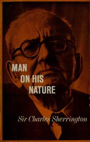 Cover of: Man on his nature.