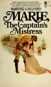 Cover of: Marie, the captain's mistress