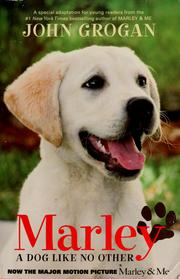 Cover of: Marley: a dog like no other