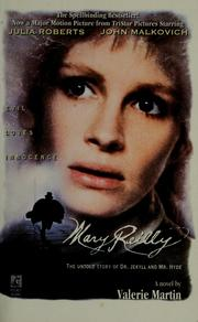 Cover of: Mary Reilly: the untold story of Dr. Jekyll and Mr. Hyde
