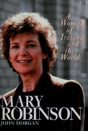 Cover of: Mary Robinson: a woman of Ireland and the world