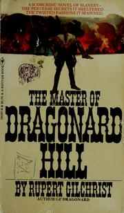 Cover of: The master of Dragonard Hill