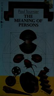 Cover of: The meaning of persons