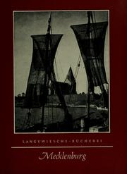 Cover of: Mecklenburg