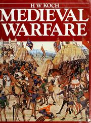 Cover of: Medieval warfare