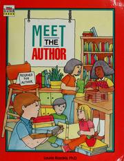 Cover of: Meet the author