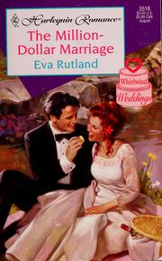 Cover of: The Million-Dollar Marriage