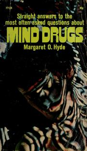 Cover of: Mind drugs