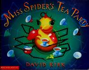 Cover of: Miss Spider's Tea Party