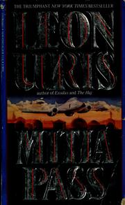 Cover of: Mitla Pass