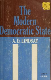Cover of: The modern democratic state.