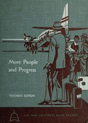 Cover of: More people and progress
