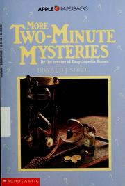 Cover of: More Two Minute Mysteries