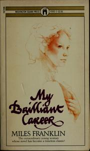 Cover of: My brilliant career