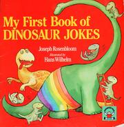 Cover of: My first book of dinosaur jokes