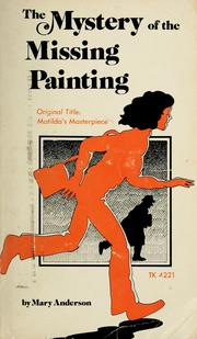 Cover of: The mystery of the missing painting