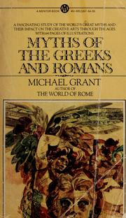 Cover of: Myths of the Greeks and Romans.