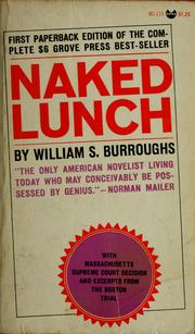 Cover of: Naked lunch