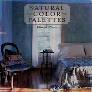 Cover of: Natural color palettes