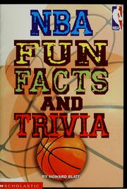 Cover of: NBA fun facts and trivia