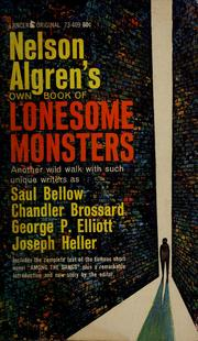 Cover of: Nelson Algren's own book of lonesome monsters.