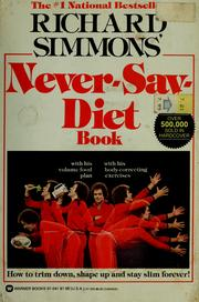 Cover of: Never-say-diet book