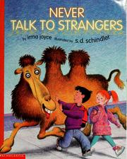 Cover of: Never talk to strangers