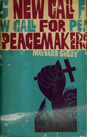 Cover of: New call for peacemakers: a new call to peacemaking study guide