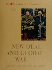 Cover of: New Deal and global war: 1933-1945