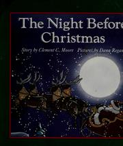 Cover of: The night before Christmas