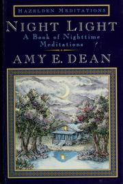 Cover of: Night light: a book of nighttime meditations