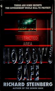 Cover of: Nobody's safe
