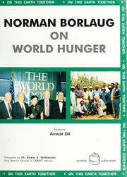 Cover of: Norman Borlaug on world hunger