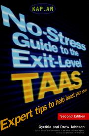 Cover of: No-stress guide to the exit-level TAAS